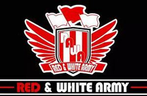 Red & White Army Logo